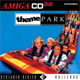 Box cover for Theme Park on the Commodore Amiga CD32.