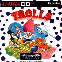 Box cover for Trolls on the Commodore Amiga CD32.