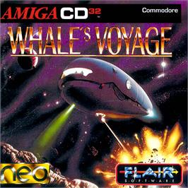 Box cover for Whale's Voyage on the Commodore Amiga CD32.