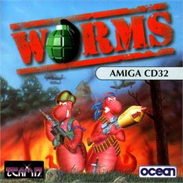Box cover for Worms on the Commodore Amiga CD32.
