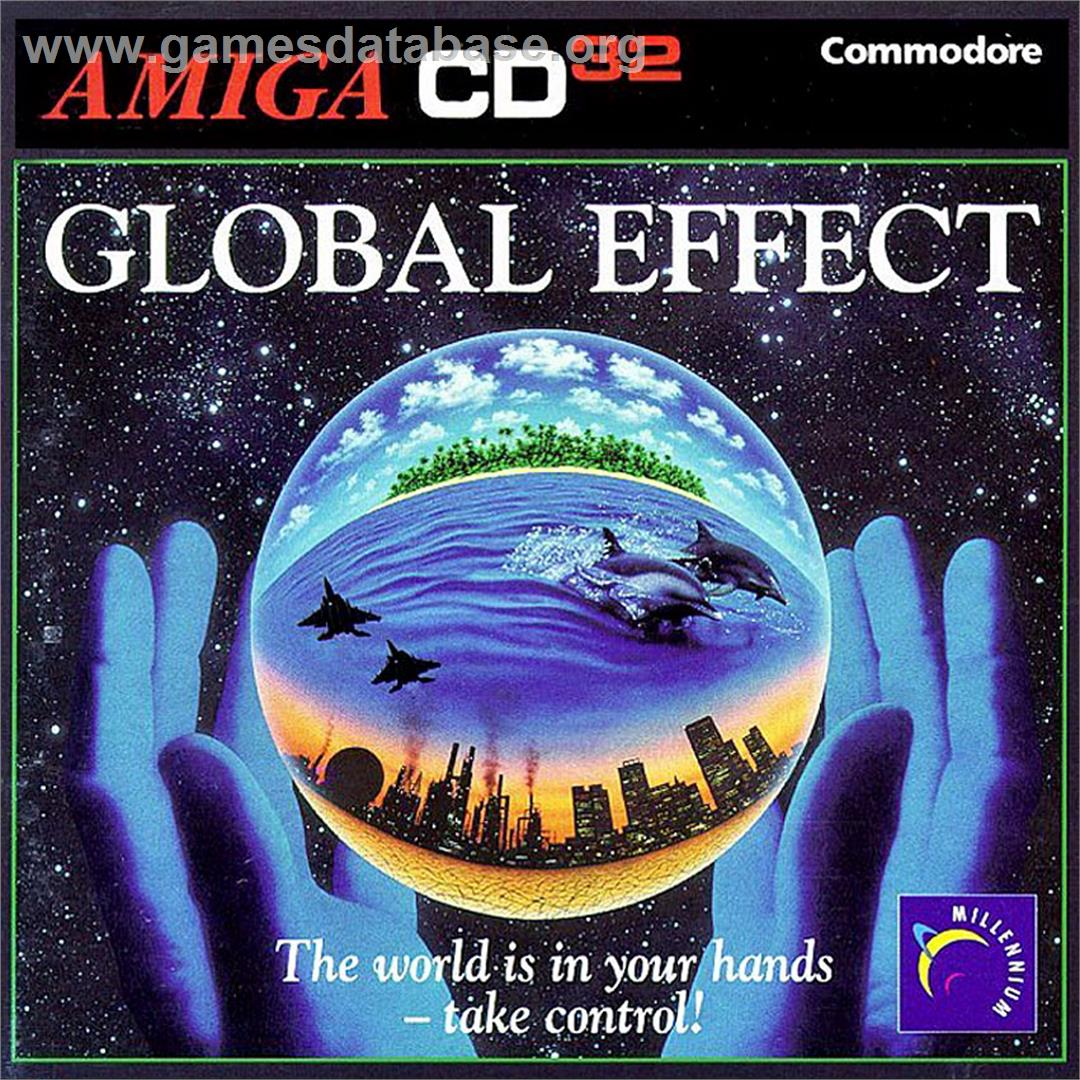 Global Effect - Commodore Amiga CD32 - Artwork - Box