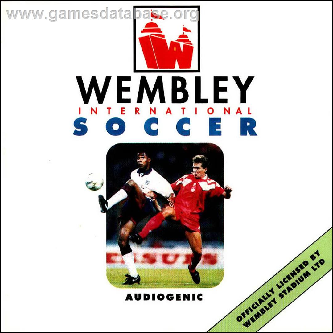Wembley International Soccer - Commodore Amiga CD32 - Artwork - Box