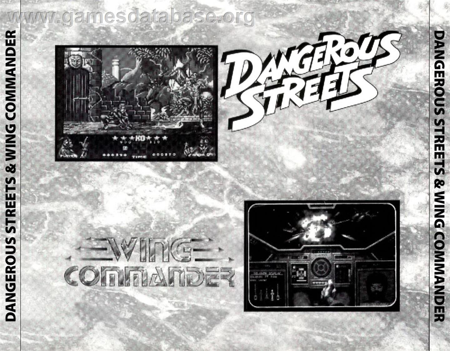 for Dangerous Streets & Wing Commander on the Commodore Amiga CD32