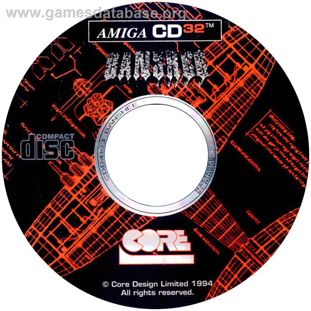 Banshee - Commodore Amiga CD32 - Artwork - CD
