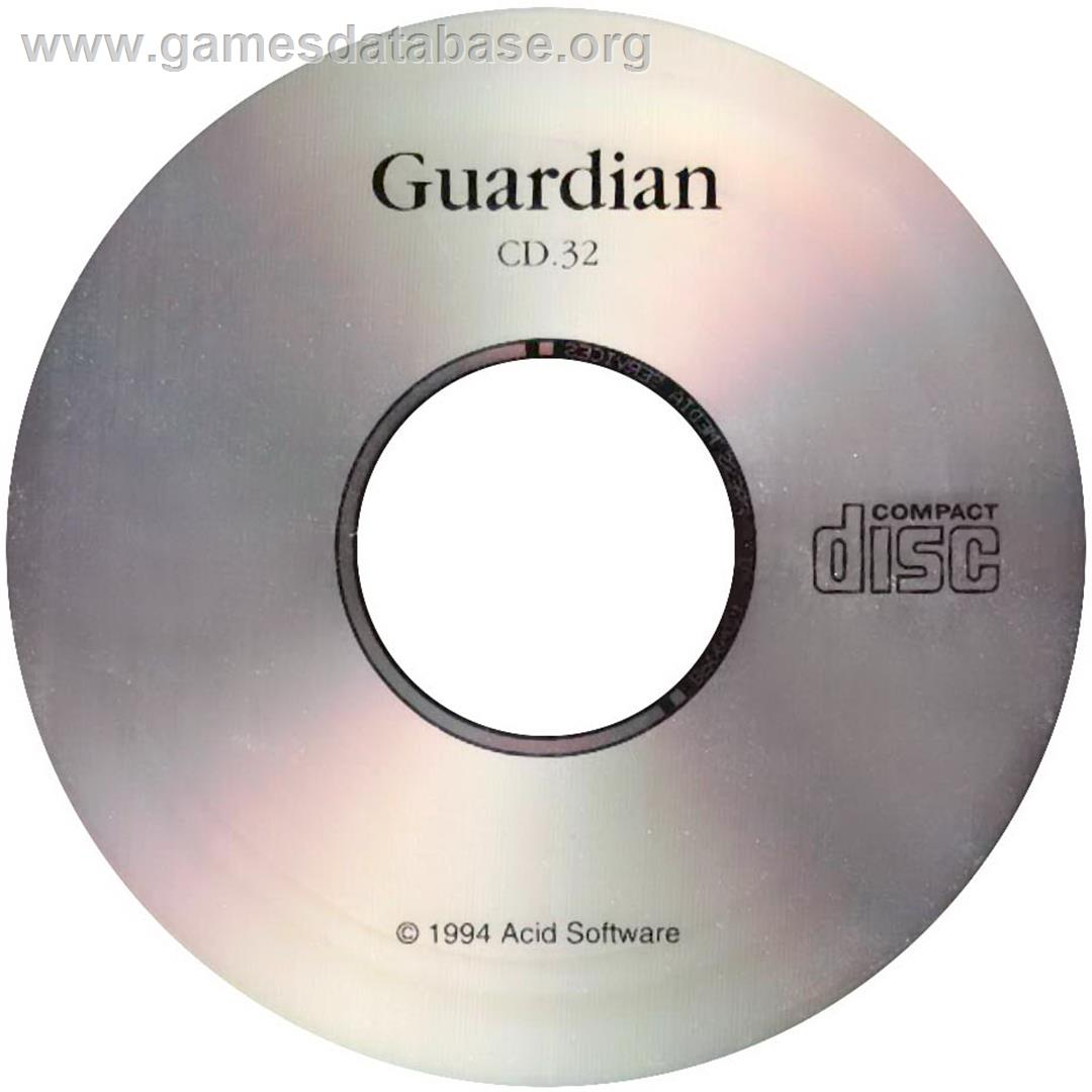 Guardian - Commodore Amiga CD32 - Artwork - CD
