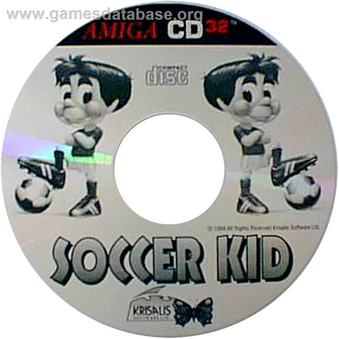 Soccer Kid - Commodore Amiga CD32