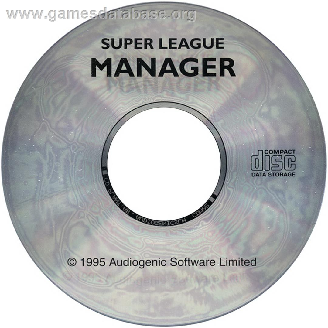 Super League Manager - Commodore Amiga CD32 - Artwork - Disc