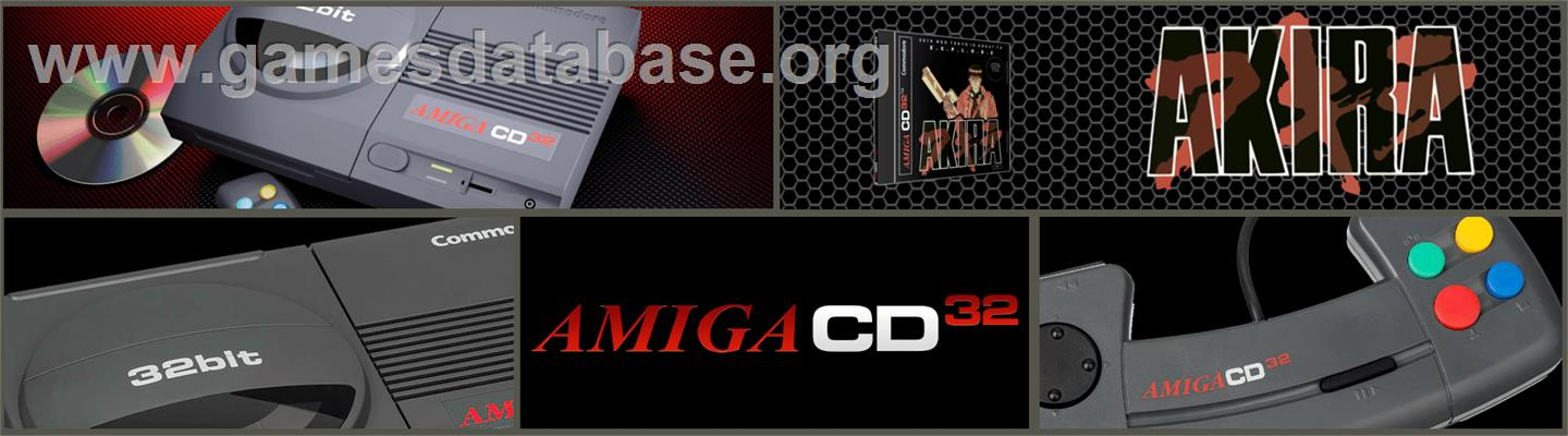 Akira - Commodore Amiga CD32 - Artwork - Marquee