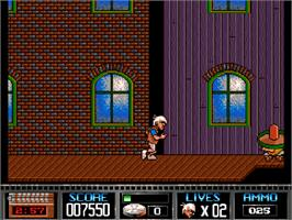In game image of Premiere on the Commodore Amiga CD32.