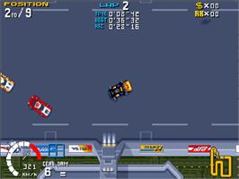 In game image of Roadkill on the Commodore Amiga CD32.