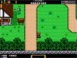 In game image of Speris Legacy on the Commodore Amiga CD32.