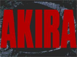 Title screen of Akira on the Commodore Amiga CD32.