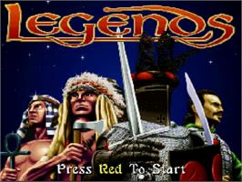 Title screen of Legends on the Commodore Amiga CD32.