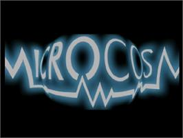 Title screen of Microcosm on the Commodore Amiga CD32.