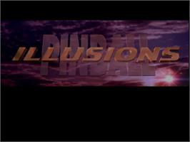 Title screen of Pinball Illusions on the Commodore Amiga CD32.
