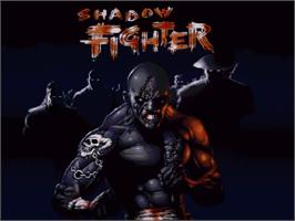 Title screen of Shadow Fighter on the Commodore Amiga CD32.
