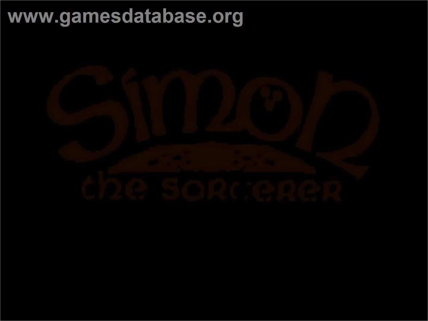Simon the Sorcerer - Commodore Amiga CD32 - Artwork - Title Screen