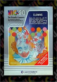 Box cover for Clowns on the Commodore VIC-20.