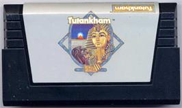 Cartridge artwork for Tutankham on the Commodore VIC-20.