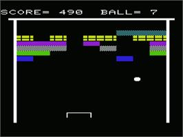 In game image of Count on the Commodore VIC-20.
