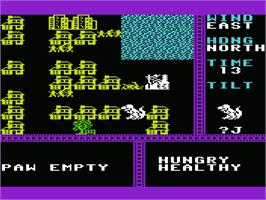 In game image of Crush, Crumble and Chomp on the Commodore VIC-20.