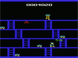 In game image of Fast Eddie on the Commodore VIC-20.