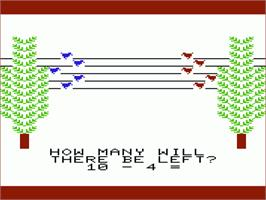 In game image of Pipes on the Commodore VIC-20.