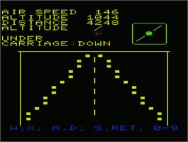 In game image of Sir Lancelot on the Commodore VIC-20.