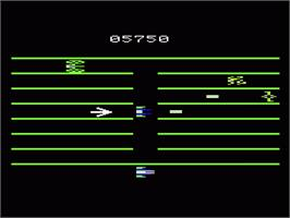 In game image of Turmoil on the Commodore VIC-20.