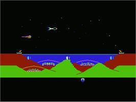 Title screen of Atlantis on the Commodore VIC-20.