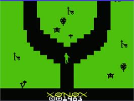 Title screen of Chuck Norris Superkicks on the Commodore VIC-20.
