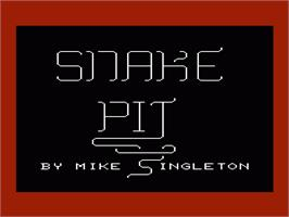 Title screen of Spike's Peak on the Commodore VIC-20.