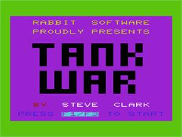 Title screen of Tutankham on the Commodore VIC-20.
