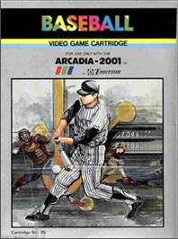 Box cover for Baseball on the Emerson Arcadia 2001.
