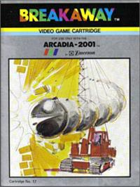 Box cover for Breakaway on the Emerson Arcadia 2001.