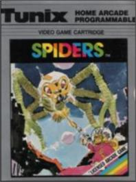 Box cover for Spiders on the Emerson Arcadia 2001.