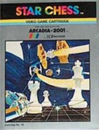 Box cover for Star Chess on the Emerson Arcadia 2001.