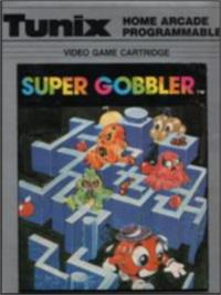 Box cover for Super Gobbler on the Emerson Arcadia 2001.