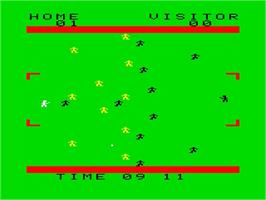 Title screen of Soccer on the Emerson Arcadia 2001.