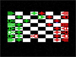 Title screen of Star Chess on the Emerson Arcadia 2001.