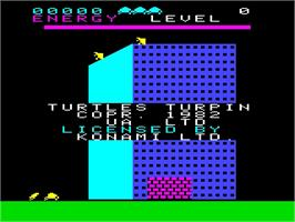 Title screen of Turtles on the Emerson Arcadia 2001.