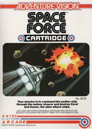 Box cover for Space Force on the Entex Adventure Vision.