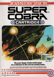 Box cover for Super Cobra on the Entex Adventure Vision.