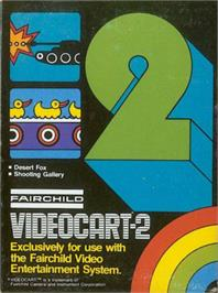 Box cover for Desert Fox & Shooting Gallery on the Fairchild Channel F.