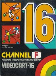 Box cover for Dodge It on the Fairchild Channel F.