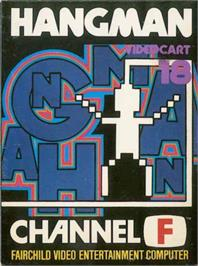 Box cover for Hangman on the Fairchild Channel F.
