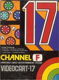 Box cover for Pinball Challenge on the Fairchild Channel F.