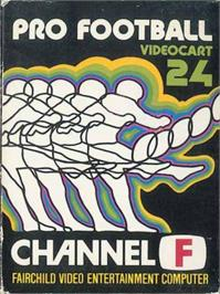 Box cover for Pro Football on the Fairchild Channel F.