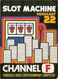 Box cover for Slot Machine on the Fairchild Channel F.