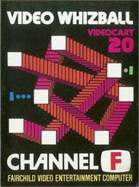 Box cover for Video Whizball on the Fairchild Channel F.